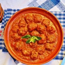 Boulettes de viande à la grecque - Greek style meatballs
