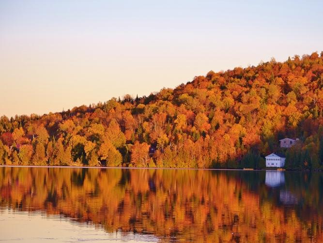 Lac St-Joseph, Val-des-lacs, Qc.