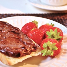 Tartinade chocolat-noisette / chocolate - hazelnut spread