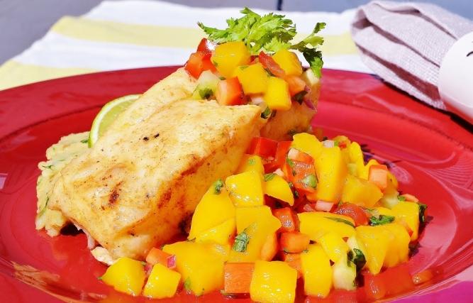 poisson salsa de mangue -fish wth mango salsa (1024x657)