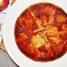Renversé pommes caramel - Apple-caramel upside down cake