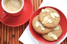 Biscuits au beurre d'amandes - almond butter cookies