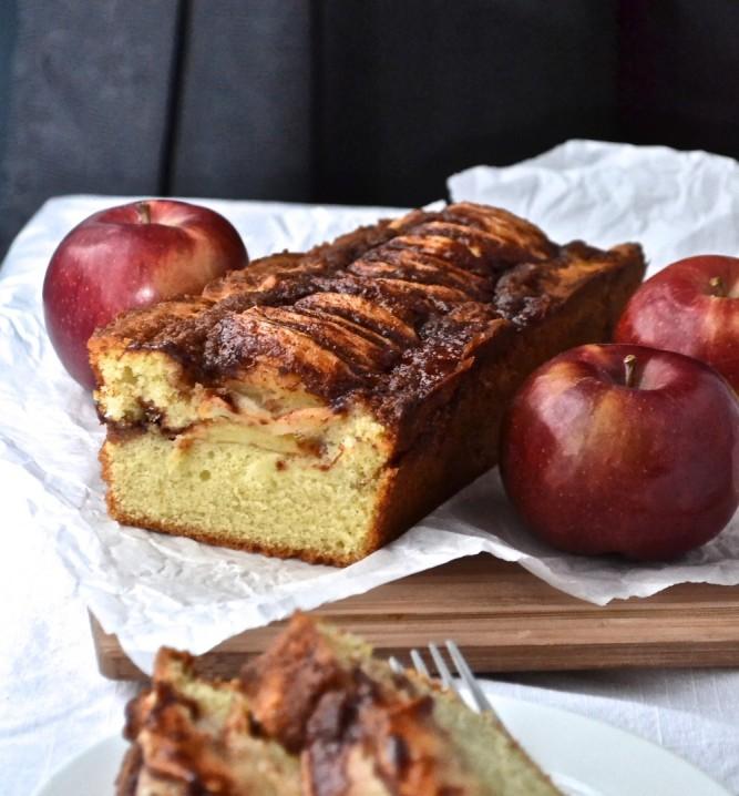 Cake aux pommes à l'ancienne