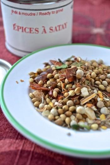 Épices à satay / satay spices