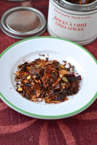 Épices à chili - chili spices