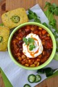 Chili sin carne (chili sans viande - meatless chili)