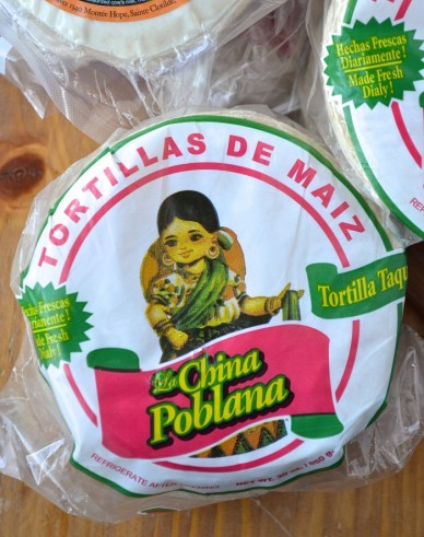 Tortillas de maïs - Corn tortillas