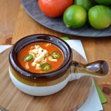 Sopa azteca - soupe aux tortillas / tortilla soup