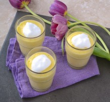 Mousse à l'ananas - Pineapple mousse