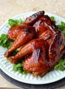 Poulet laqué au Ginger Ale - Ginger Ale lacquered chicken