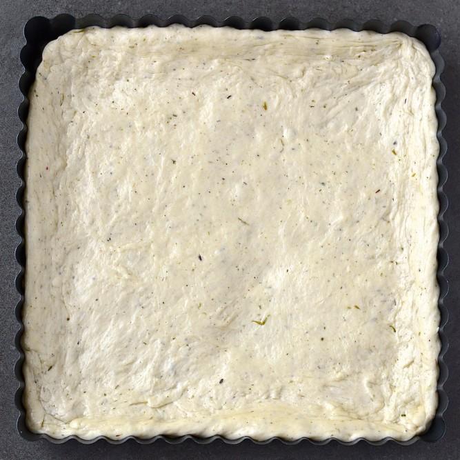 Pâte à pizza aux herbes de provence - Herbes de Provence pizza dough