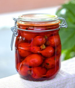 Pickles de radis (radis marinés) - pickled radishes
