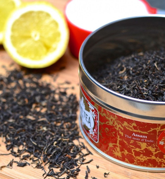 Thé noir assam - Assam black tea from India