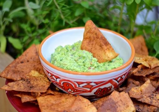 Guacamole aux fèves edamame