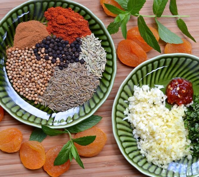 Épices pour brochettes d'agneau à la marocaine - Moroccan leg of lamb spicy skewers