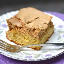 Gâteau à la cassonade - Brown sugar cake