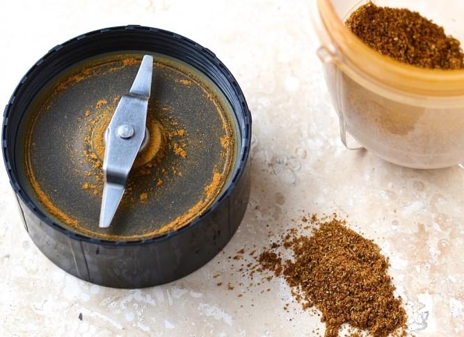 Pâte de cari maison - Homemade curry paste