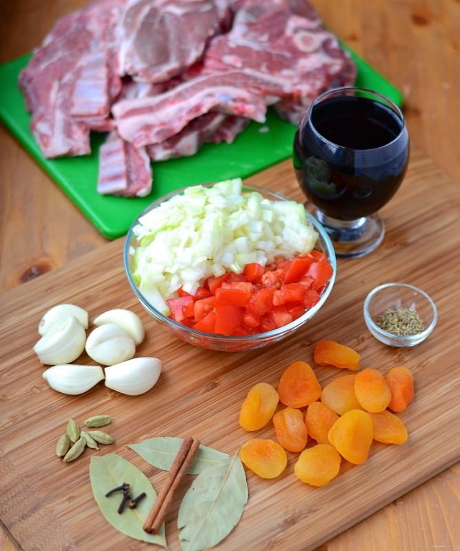 Braisé d'agneau au porto - Braised lamb with Port wine
