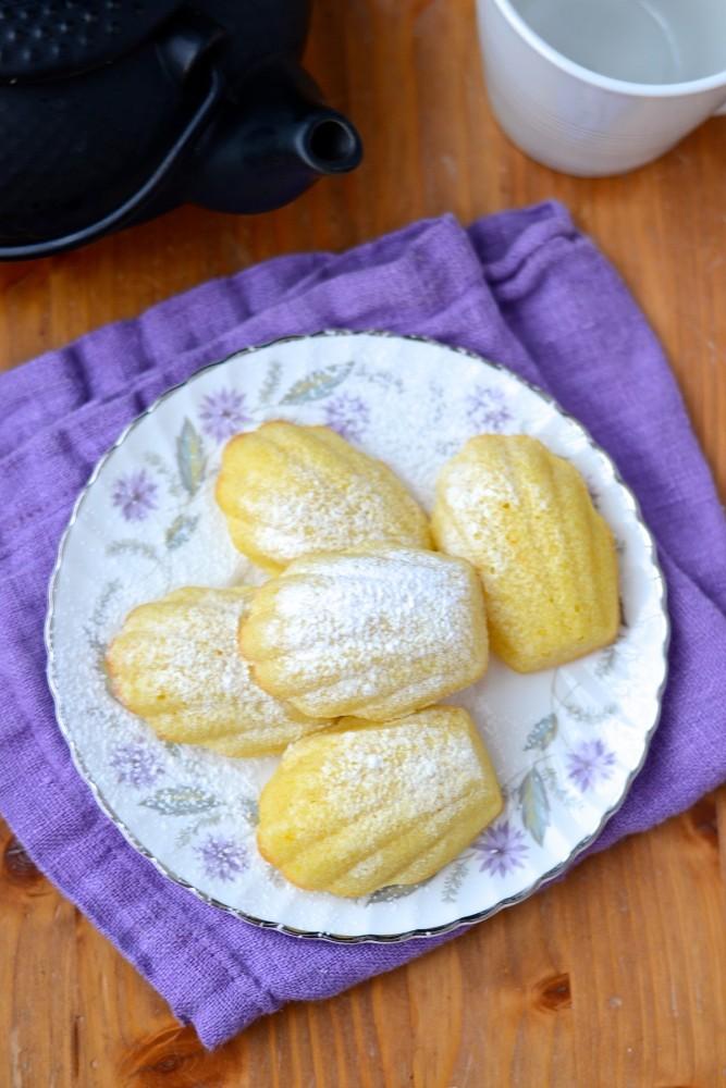 Madeleines au citron - Lemon madeleines