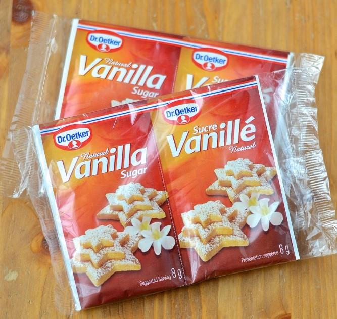 Sucre vanillé - vanilla sugar