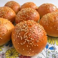 Petits pains ultra moelleux au tangzhong (pour hamburgers)